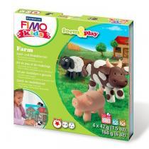 Fimo - Kit de jeux de modelage  Kids Ferme