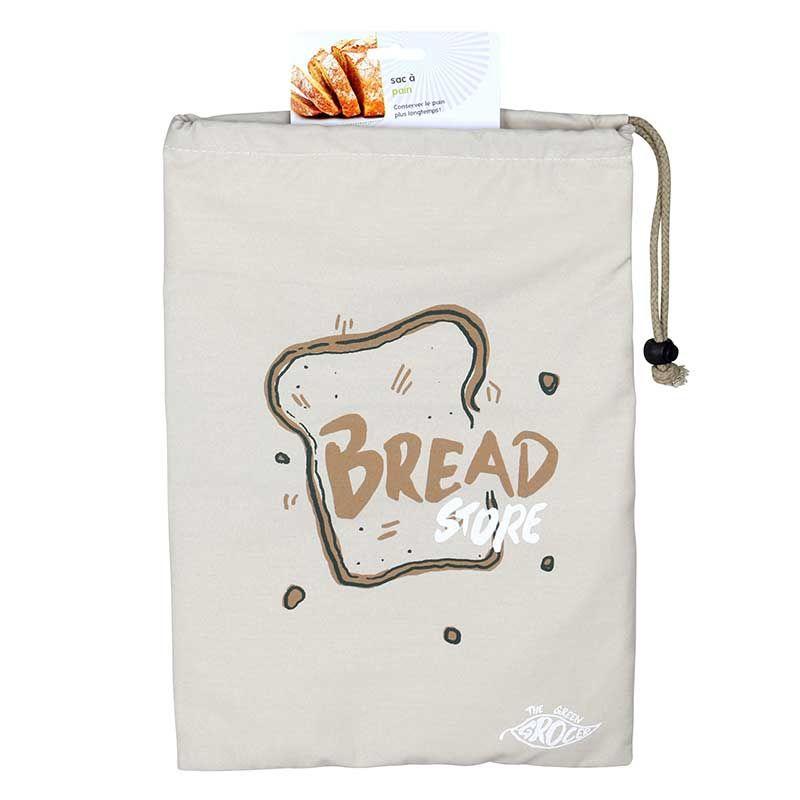 Aromandise - Sac à pain en tissu 28 x 38 cm