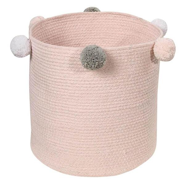 Lorena Canals - Panier BUBBLY Lorena Canals rose