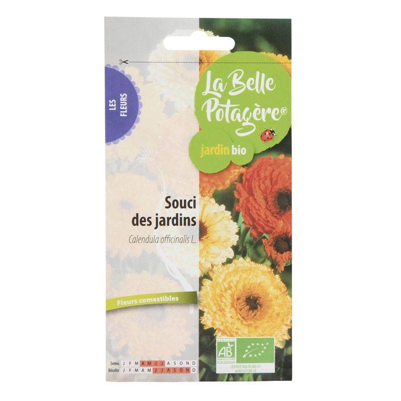La Belle Potagère - Graines à semer - Souci des jardins - 1,5 g