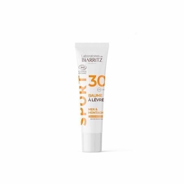 Laboratoires de Biarritz - Baume à lèvres SPF30 certifié bio - Sport - Voyage