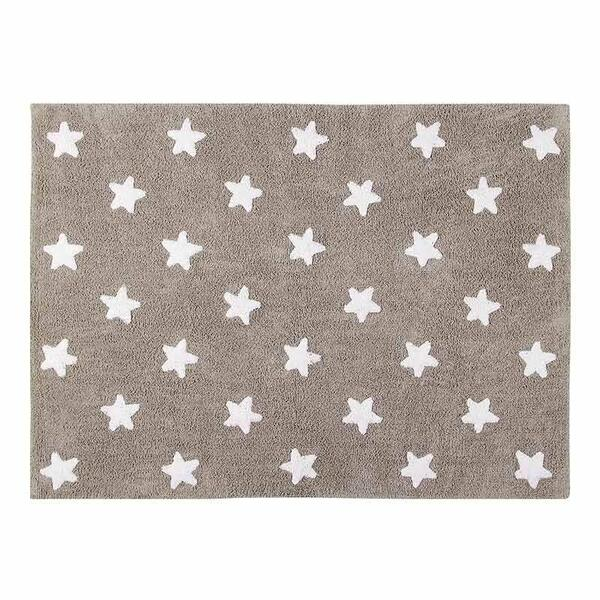 Lorena Canals - Tapis 120x160 STARS Lorena Canals linen