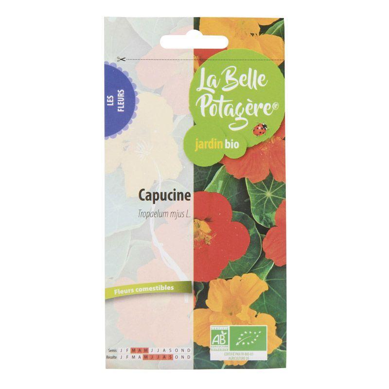 La Belle Potagère - Graines à semer - Capucine - 3,5 g