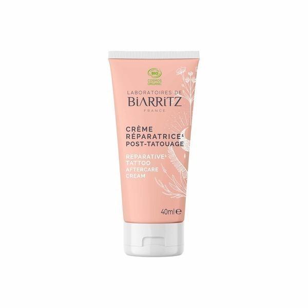 Laboratoires de Biarritz - Crème réparatrice Post-Tatouage certifiée Bio