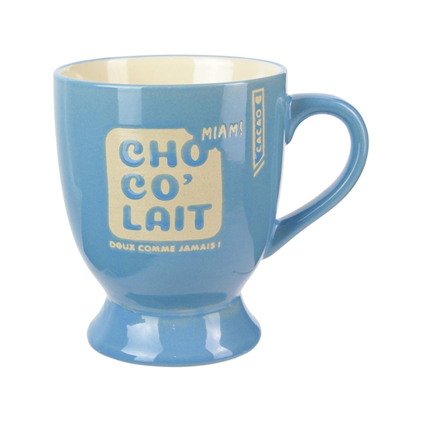 Phileas Lounge - Mug pied choco' - Bleu
