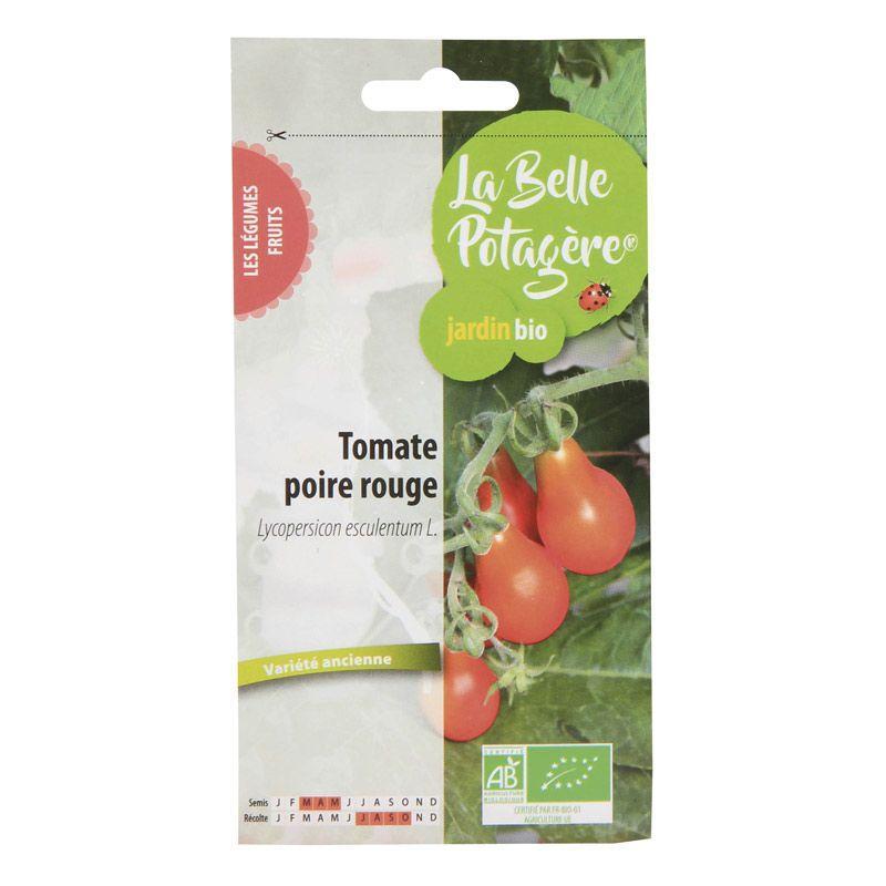 La Belle Potagère - Graines à semer - Tomate cerise poire rouge - 0,15 g