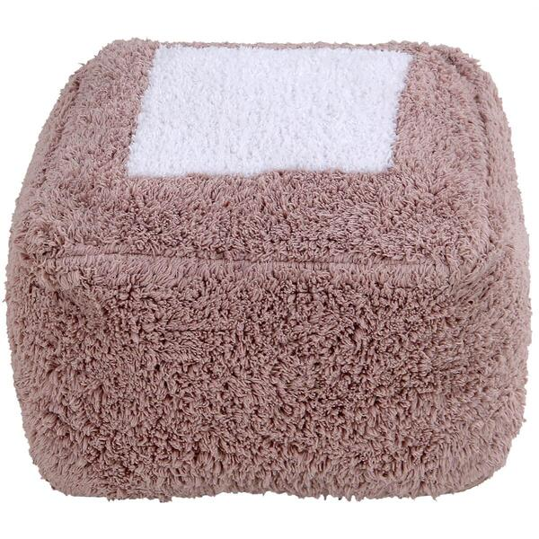 Lorena Canals - Pouf MARSHMALLOW SQUARE Vintage Nude
