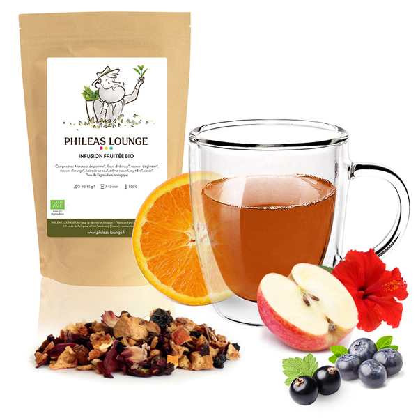 Phileas Lounge - Infusion fruitée Bio-100g