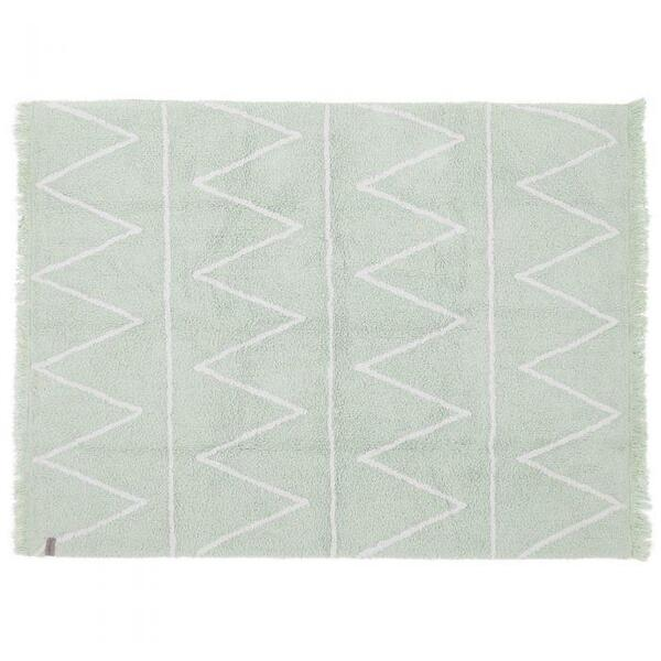 Lorena Canals - Tapis 120x160 HIPPY Lorena Canals mint