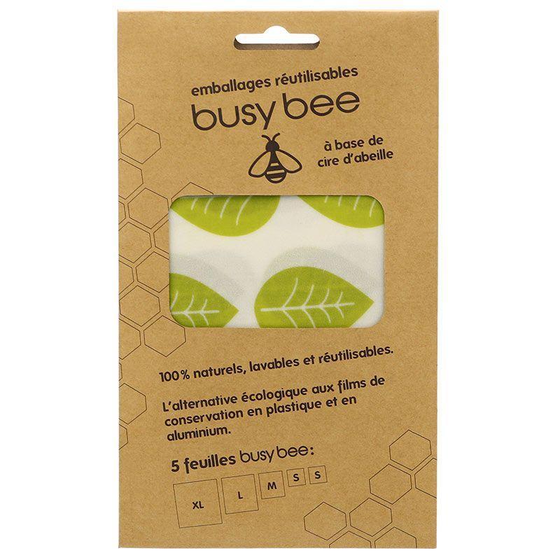 Aromandise - Emballage alimentaire réutilisable à la cire d'abeille 5