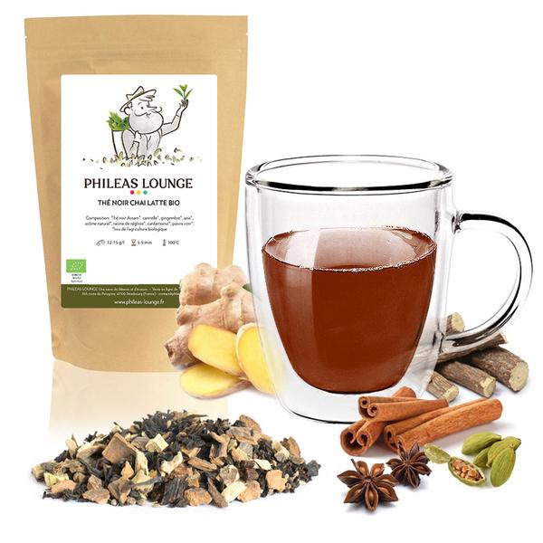 Phileas Lounge - Thé Noir Chai Latte Bio-100g