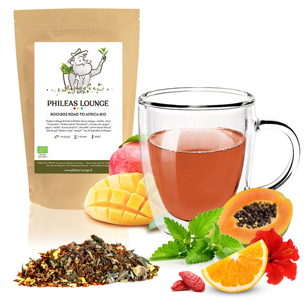 Phileas Lounge - Rooibos Road to Africa Bio-100g
