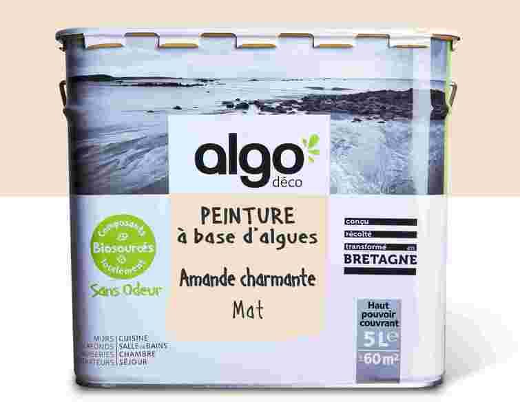 Algo Peinture - Beige Algo à base d'algues 100% naturelles (Amande charmante)