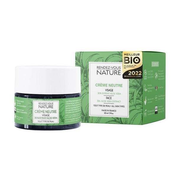 Rendez-vous Nature - Crème Neutre Visage à l'Aloe Vera