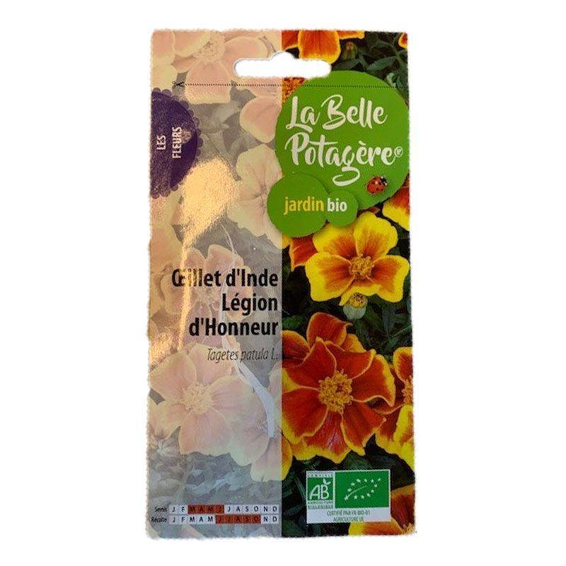La Belle Potagère - Graines à semer - Œillet d'Inde - 0,2 g