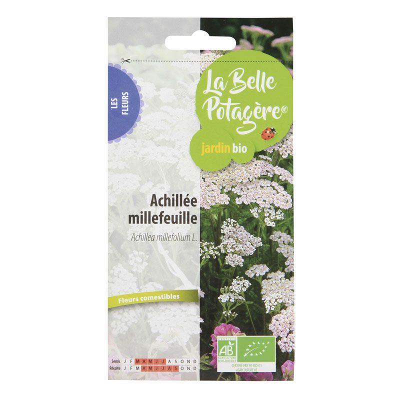 La Belle Potagère - Graines à semer - Achillée millefeuille - 0,15 g
