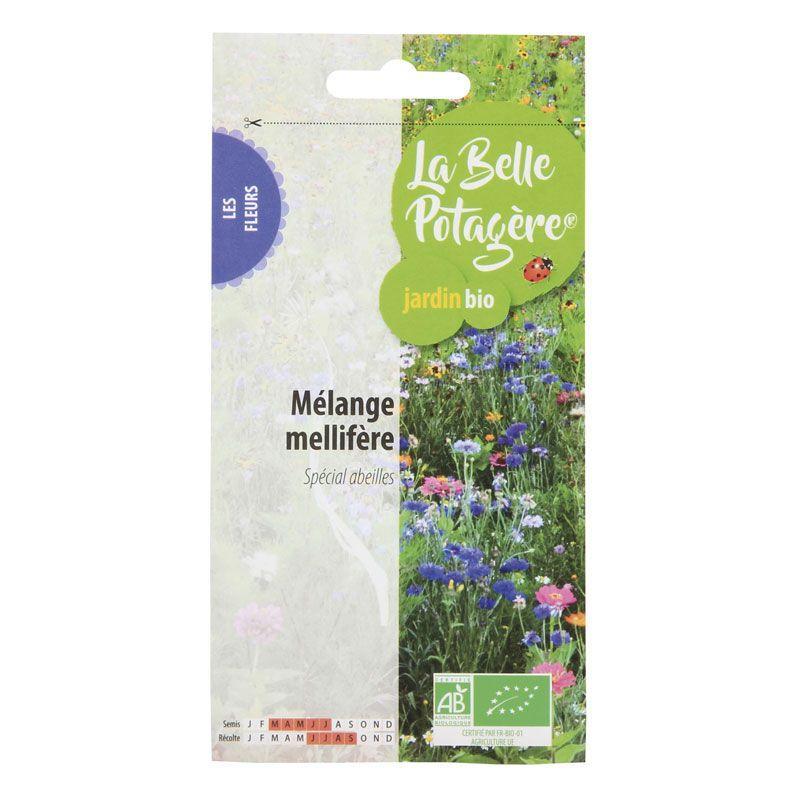 La Belle Potagère - Graines à semer - Mélange mellifère - 10 g