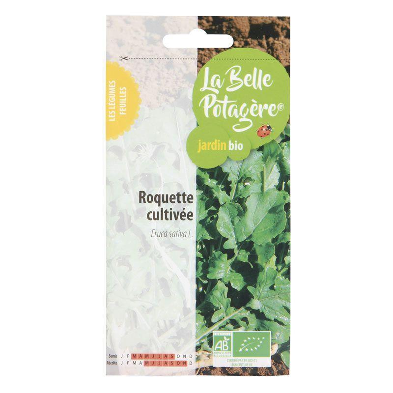 La Belle Potagère - Graines à semer - Roquette cultivée - 2,5 g