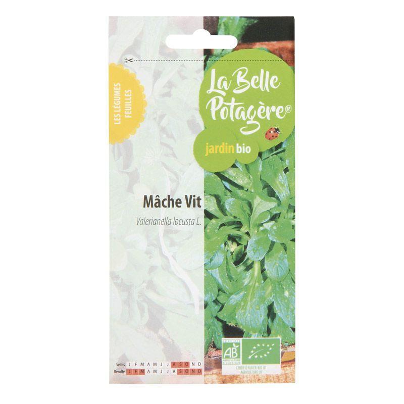 La Belle Potagère - Graines à semer - Mâche Vit - 1 g