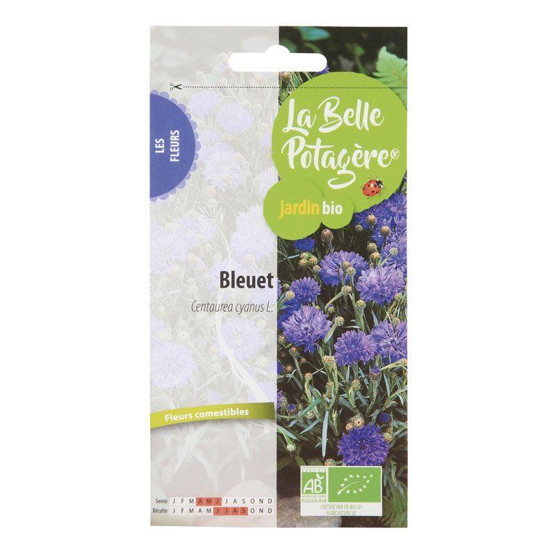 La Belle Potagère - Graines à semer - Bleuet - 0,6 g