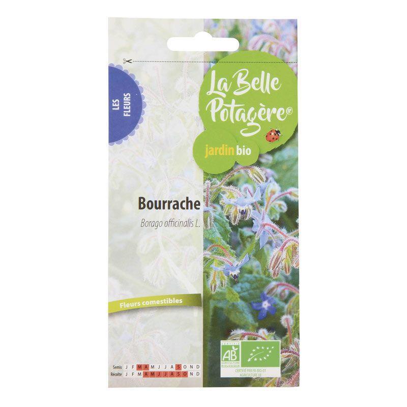 La Belle Potagère - Graines à semer - Bourrache officinale - 2 g