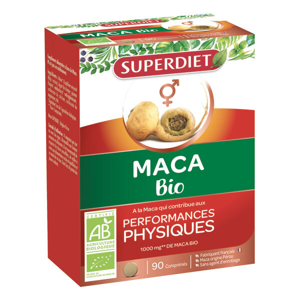 SUPERDIET - Maca bio 90 comprimés