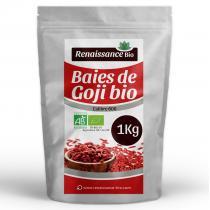 Renaissance Bio - Baies de Goji Biologique - 1 kg
