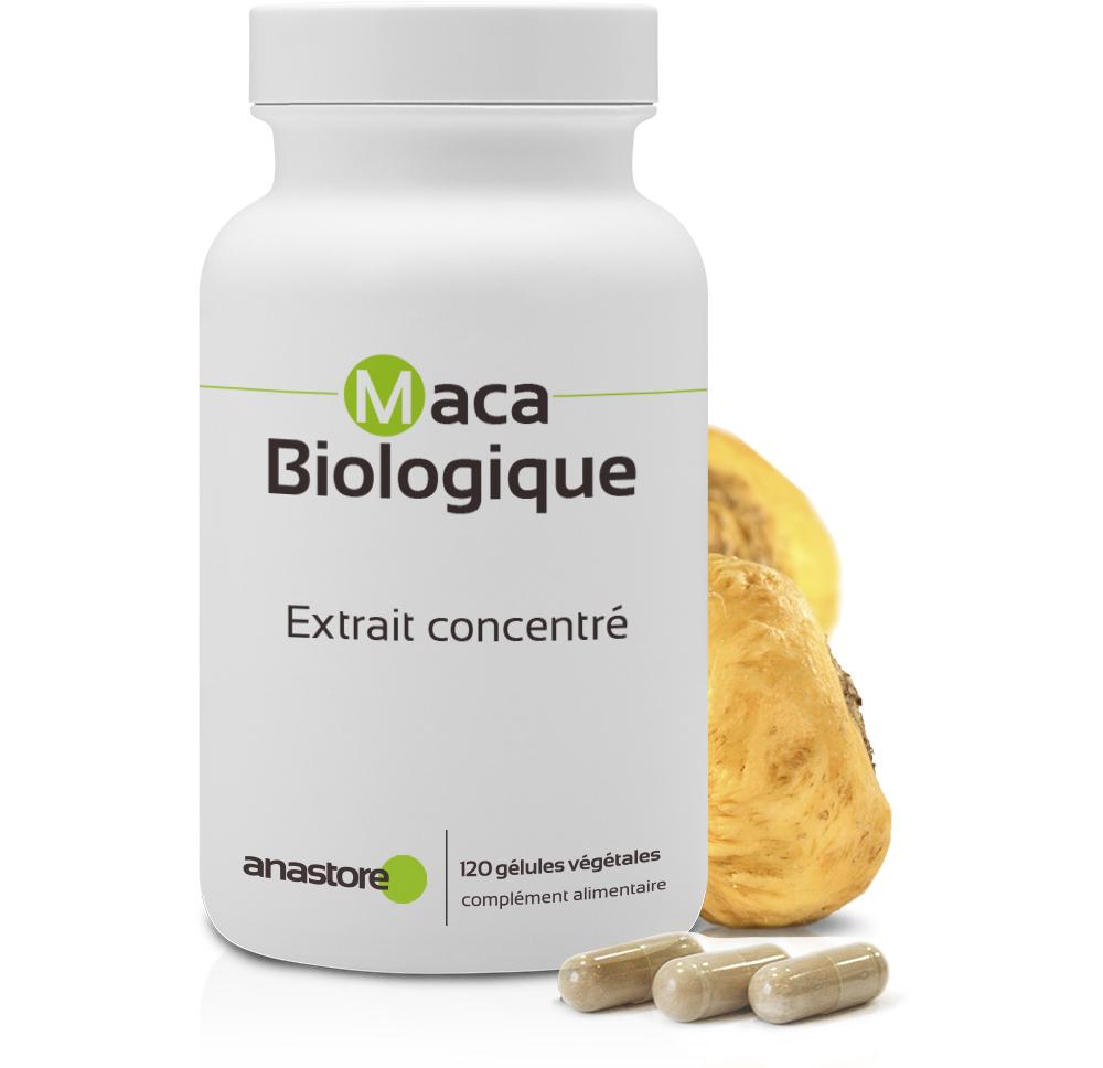 Anastore - Maca Bio * 500 mg / 120 gélules * Extrait concentré 4:1