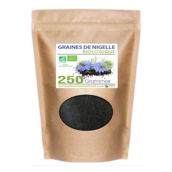 Planète au Naturel - Graines de Nigelle Bio - 250 g