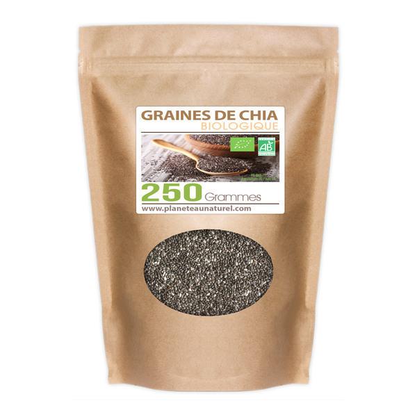 Planète au Naturel - Graines de Chia Bio - 250 g