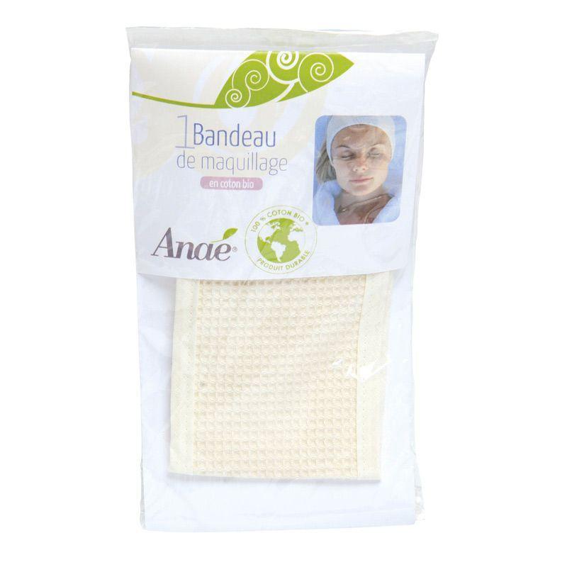 Anaé - Bandeau de maquillage - 100% coton bio