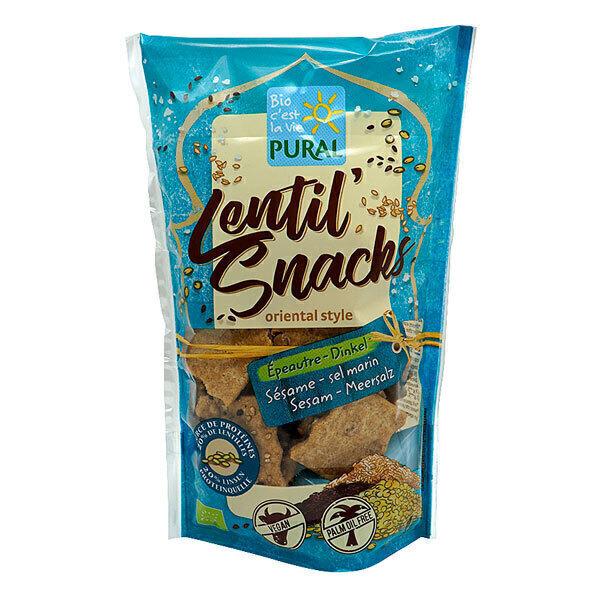 Pural - Lentil' snacks sésame et sel 85g