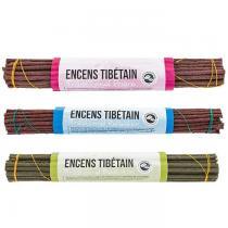 Aromandise - Coffret de 3 encens traditionnels tibétains - Méditation,