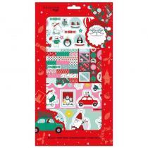 DRAEGER - Kit de stickers et dies de Noël