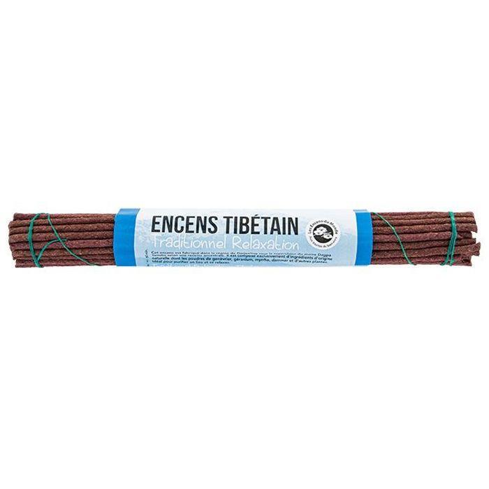 Les Encens du Monde - 28 bâtonnets d'encens traditionnel tibétain - Relaxation