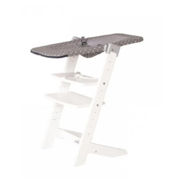 Geuther - Transat pour chaise SYT 2337 Couleur blanc fond gris