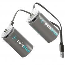 Pale Blue - PILES RECHARGEABLES USB : D / LR20