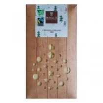 Bovetti Chocolats - Tablette chocolat blanc Noël 100g