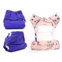 Mon Petit Paquet - Couche Lavable - TE1 Violette