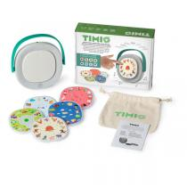 Timio - Kit Lecteur éducatif Timio et 5 disques - Dès 2 ans
