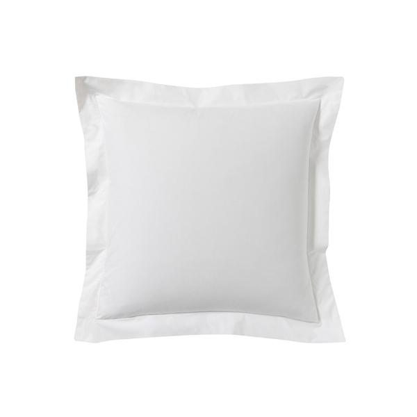 Zôdio - Taie d'oreiller carrée en coton blanc 65X65cm