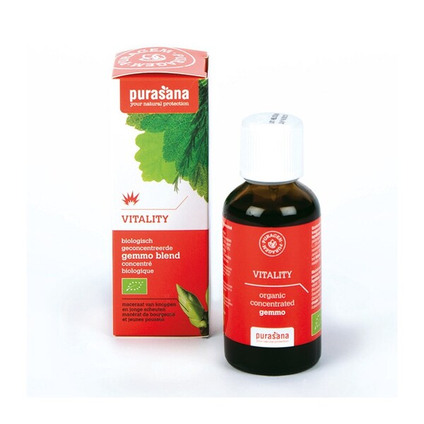 Purasana - Vitality bio - Gemmothérapie