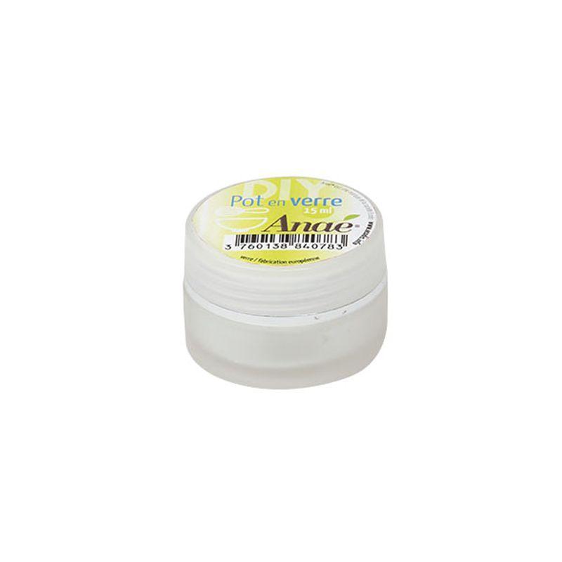 Anaé - Pot en verre - Cosmétique - 15 ml
