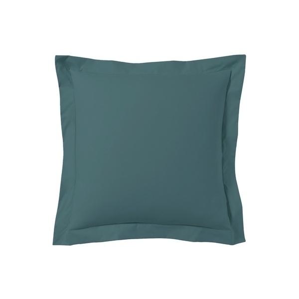 Zôdio - Taie d'oreiller carrée bleu peacock 65x65cm