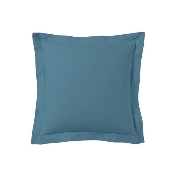 Zôdio - Taie d'oreiller carrée bleu postal 65x65cm