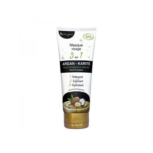 Bio 4 you - Masque peau sèche et sensible argan et karité bio