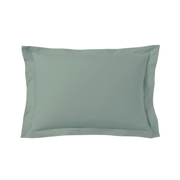 Zôdio - Taie d'oreiller rectangle gris fumée 50x70cm