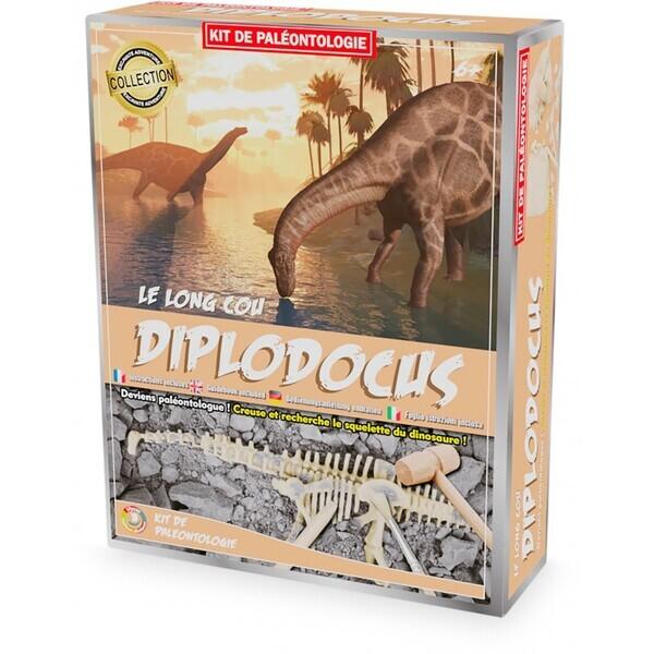 Ulysse - Kit Paleo - Diplodocus