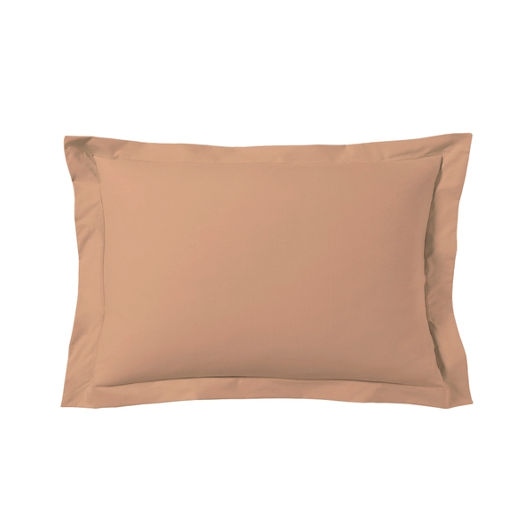 Zôdio - Taie d'oreiller rectangle rose fané 50x70cm