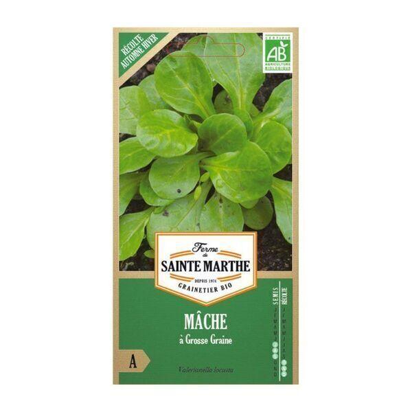 La ferme St-Marthe - Mâche à Grosse Graines - Semences reproductibles bio